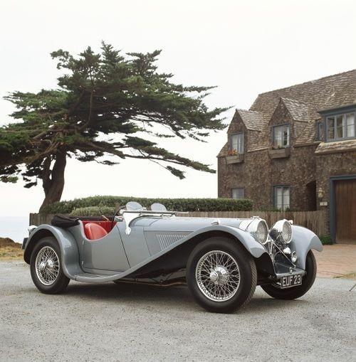 1938 Jaguar SS100 3½ Litre