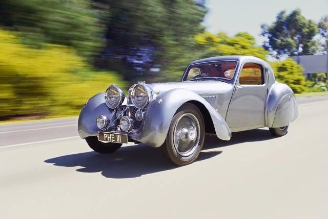 1938 Jaguar SS100 Coupé Prototype
