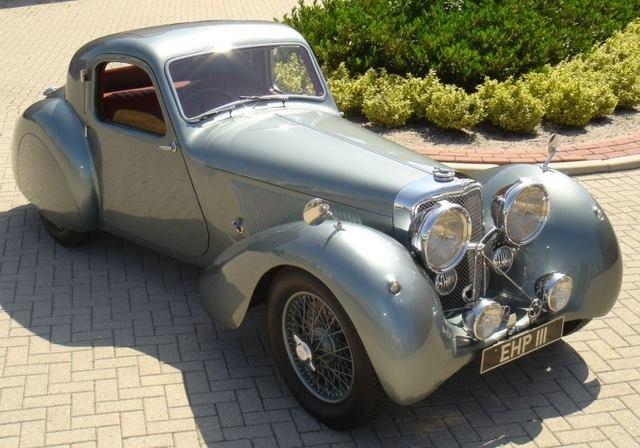 1938 SS Jaguar 100 3.5 fhc