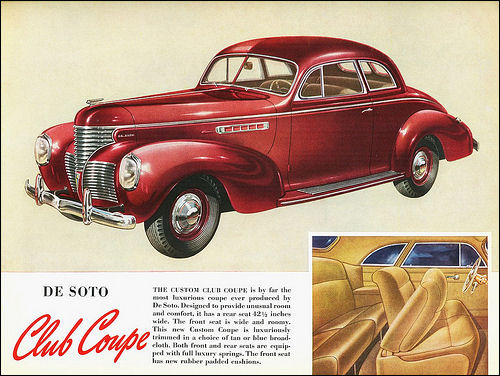 1939 De Soto Custom Club Coupe