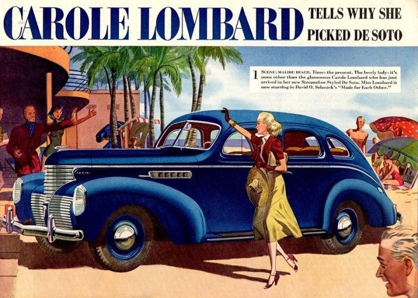 1939 DeSoto ad