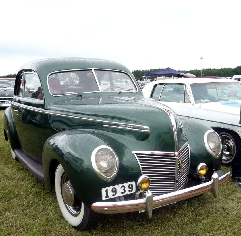 1939 Ford Mercury Green