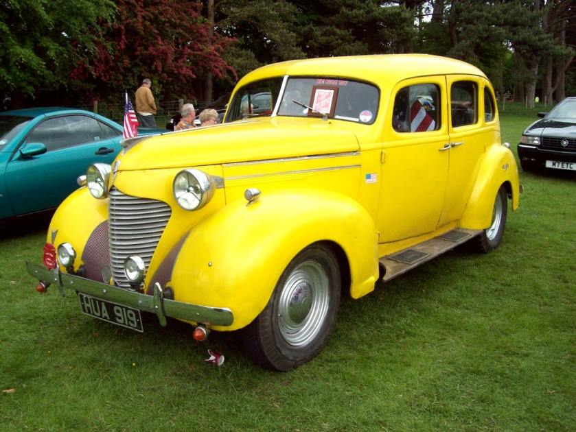 1939 Hudson 112 Sedan Engine 2912cc HUA