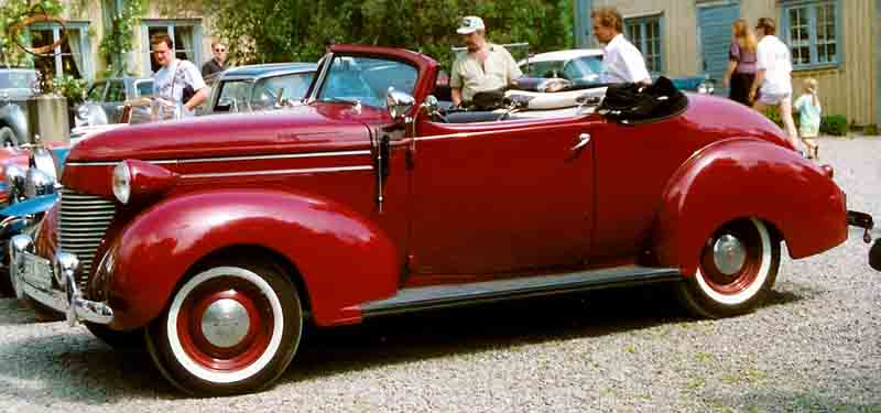 1939 Hudson 112 Series 90 Convertible Coupé