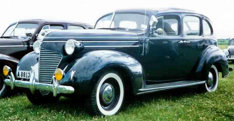 1939 Hudson 112 Touring Sedan