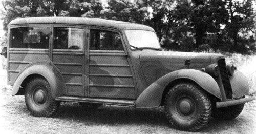 1939 humber snipe mk2 utility
