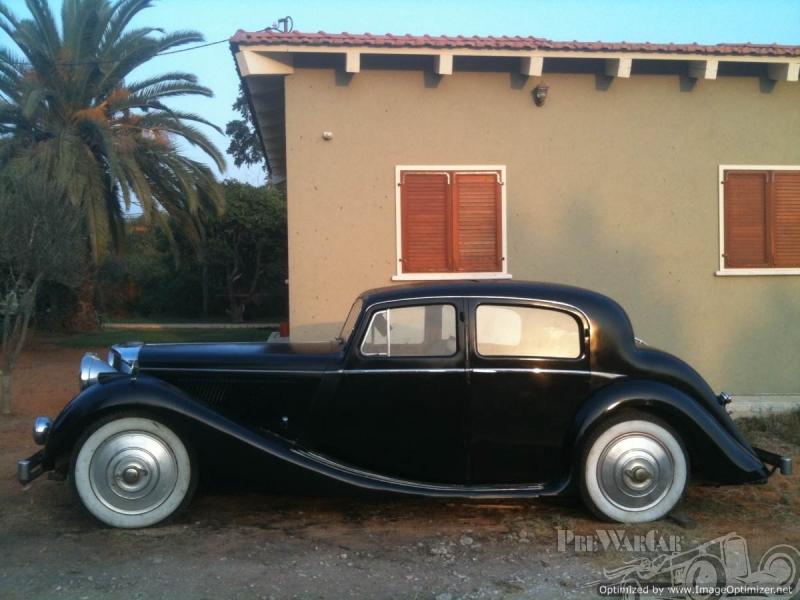 1939 Jaguar SS 3.5 Saloon