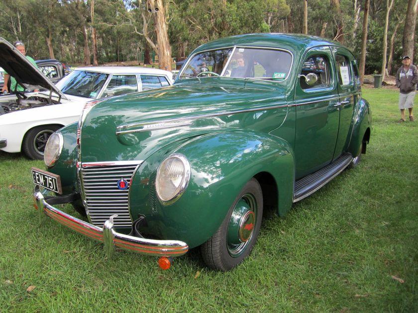 1939 Mercury 8 Town-Sedan