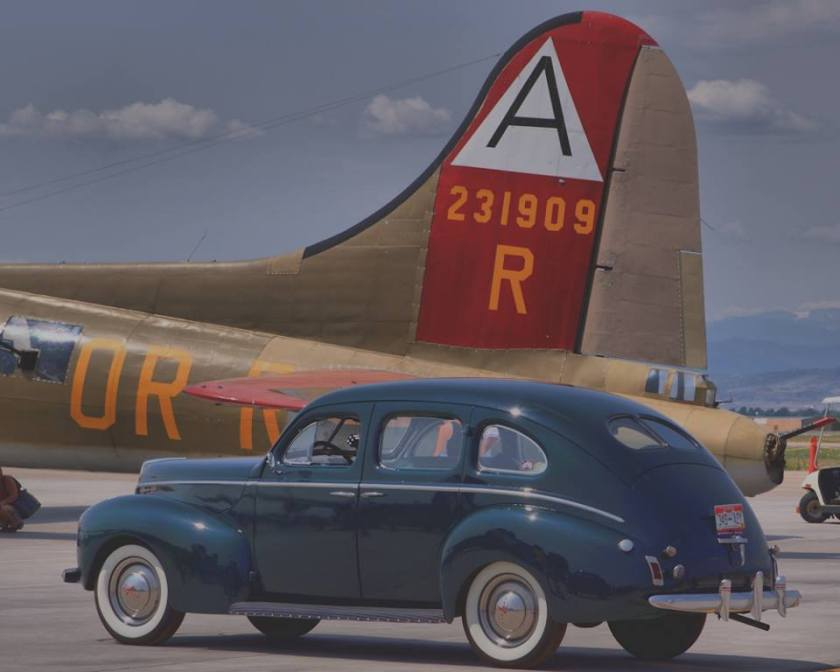 1939 Mercury and a B-17