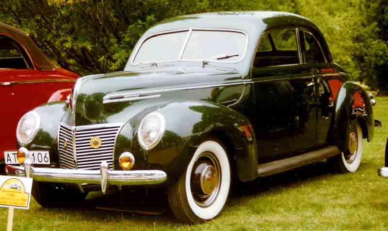1939 Mercury Sedan Coupé