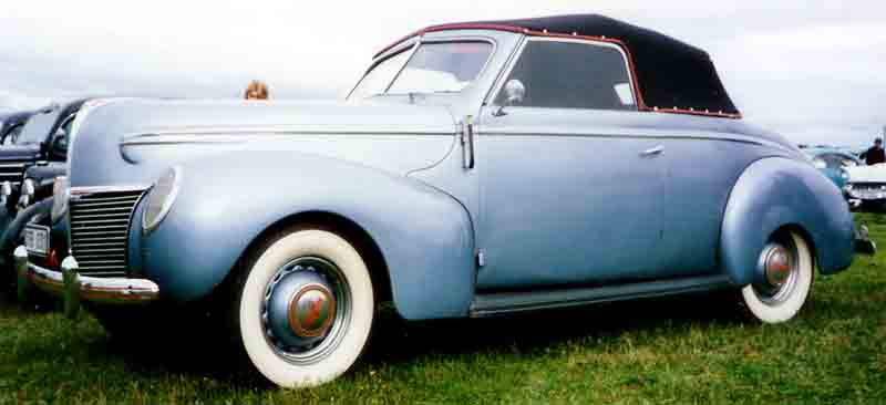 1939 Mercury Series 99A Convertible Coupé