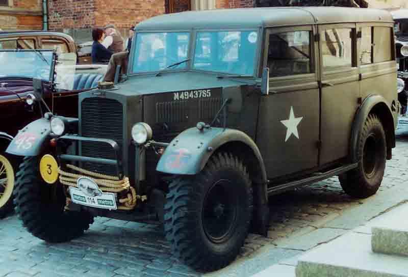 1940 Humber Heavy Utility