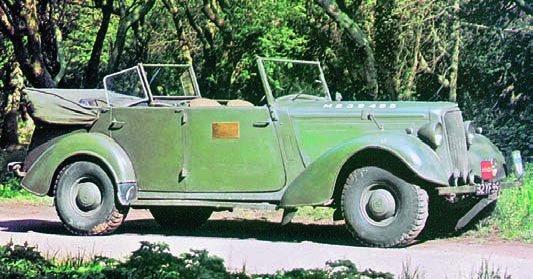 1940 Humber Snipe Mk-II cabriolet