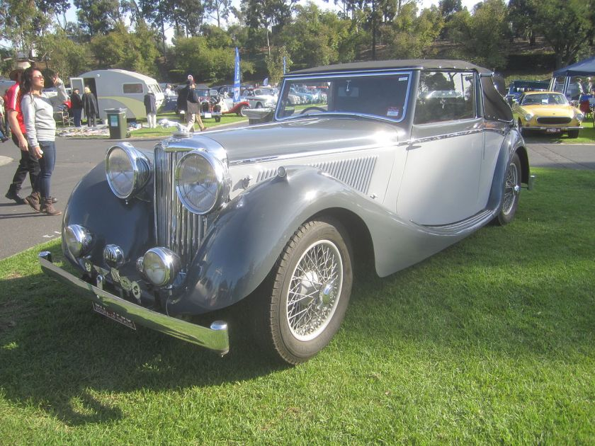 1940 SS Jaguar 3½-litre, 125 hp drophead coupé