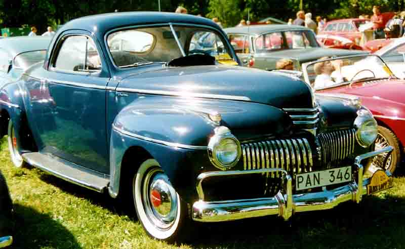 1941 De Soto Series S-8 Custom Coupé