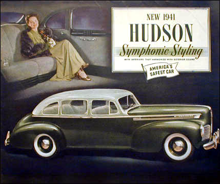 1941 hudson super six sedan