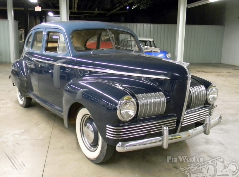 1941 Nash 600 4dr. sedan
