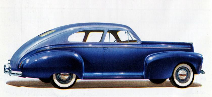 1941 Nash Ambassador 600 Slipstream