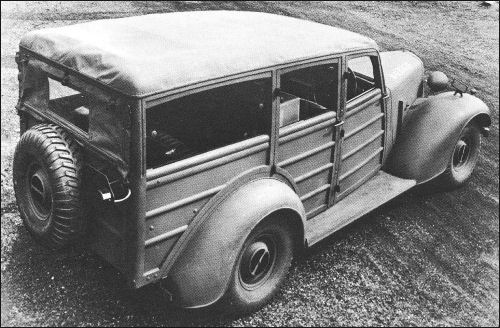 1942 humber super snipe utility