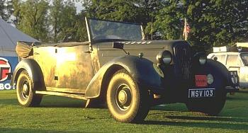 1943 humber staff car