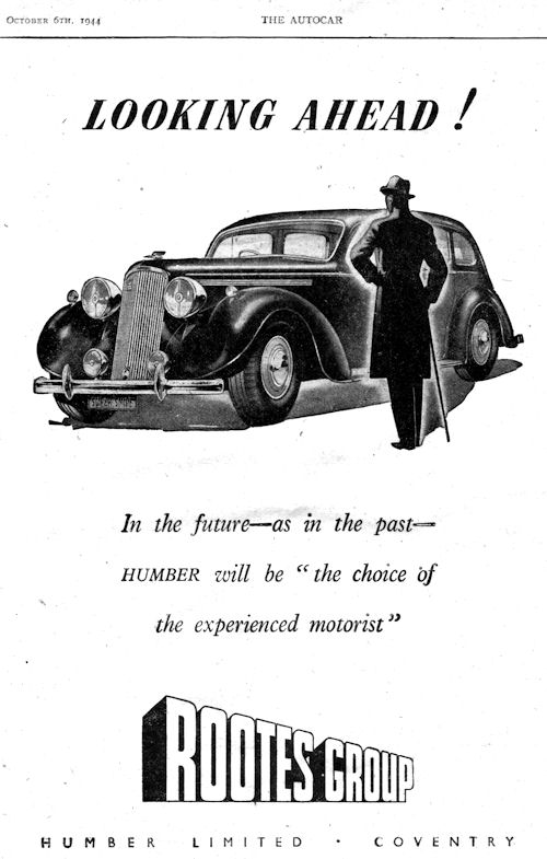 1944 humber oct-ad