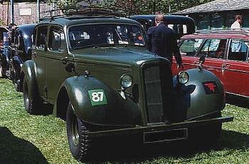 1944 humber staff car