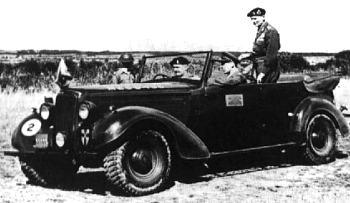 1944 humber super snipe montgomery