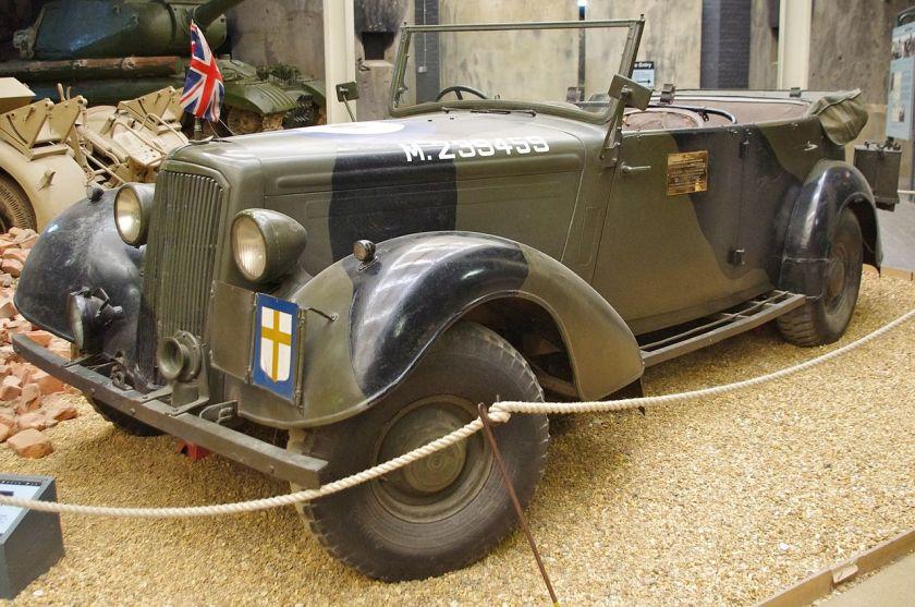 1944 Montgomery's Staff Car - Humber Mk2 Super Snipe
