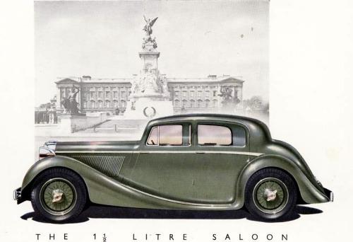 1945 jaguar 1,5 litre saloon