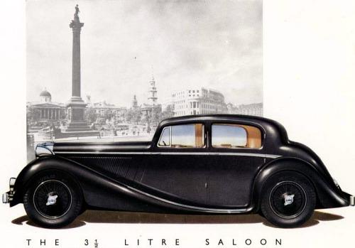 1945 jaguar 3,5 litre saloon