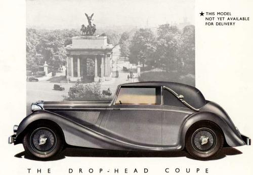 1945 jaguar drophead coupe