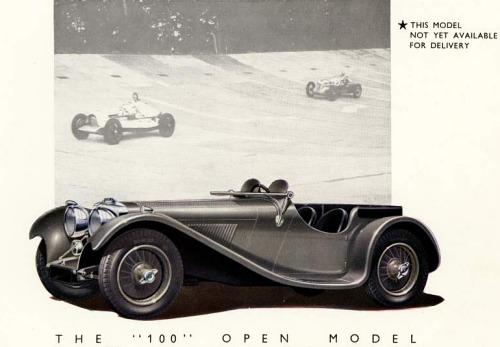 1945 jaguar ss 100