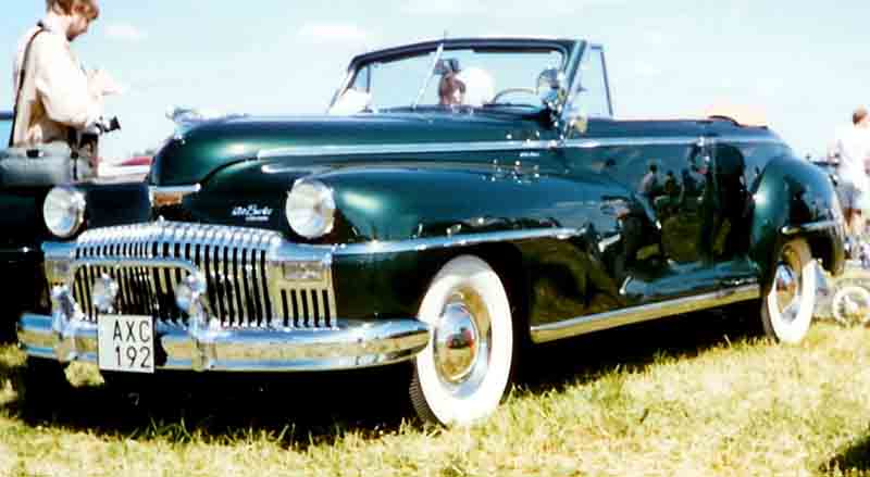 1946 De Soto Series S11C Custom Club convertible