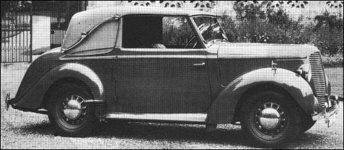 1946 hillman minx dhc