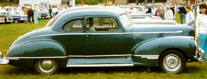 1946 Hudson Super Six Club Coupé