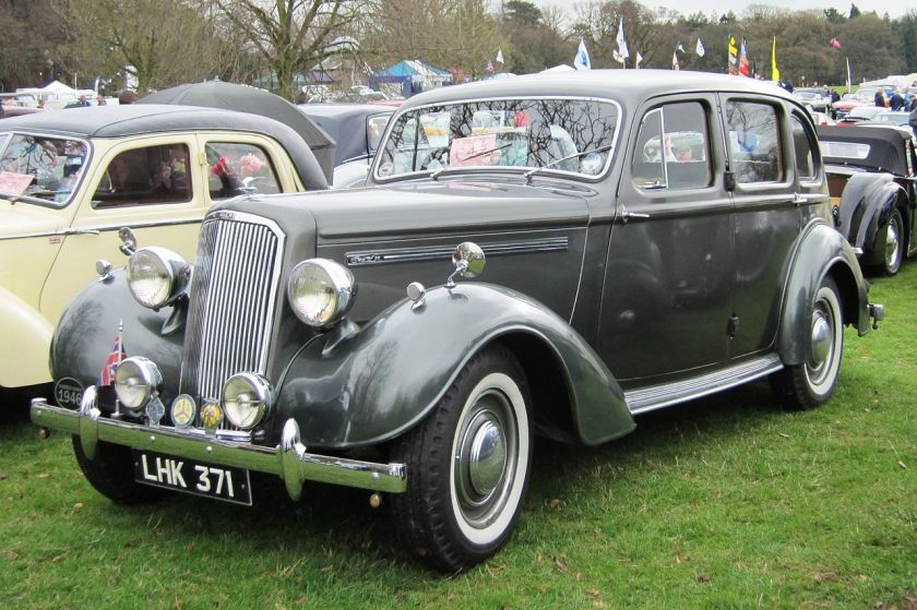1946 Humber Hawk Essex 1701cc