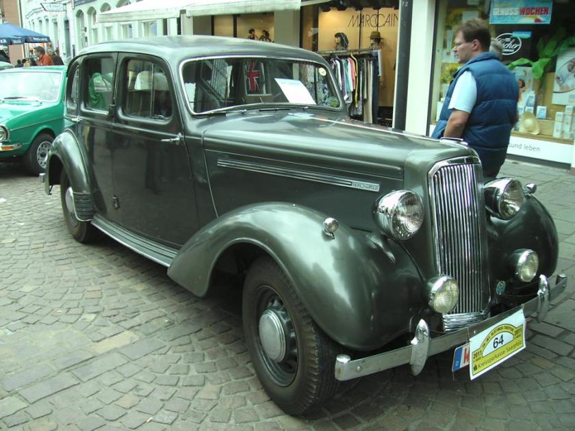 1946 Humber Hawk Mark I
