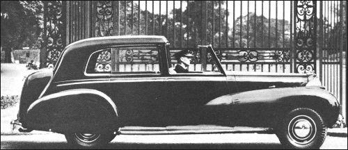 1946 humber mulliner