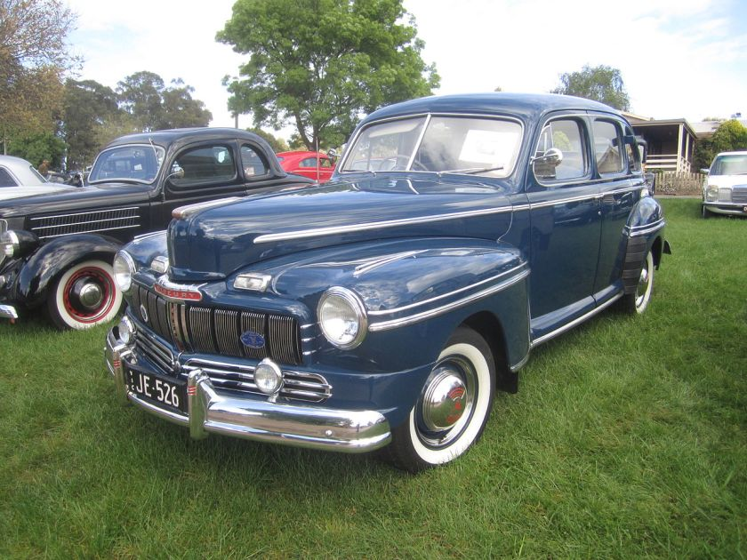 1946 Mercury Eight sedan