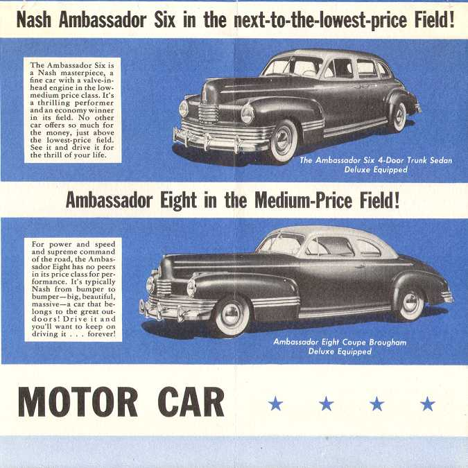 1946 nash 6 p39u