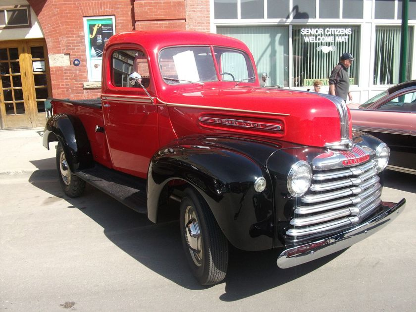 1947 Canadian Mercury M-Series truck