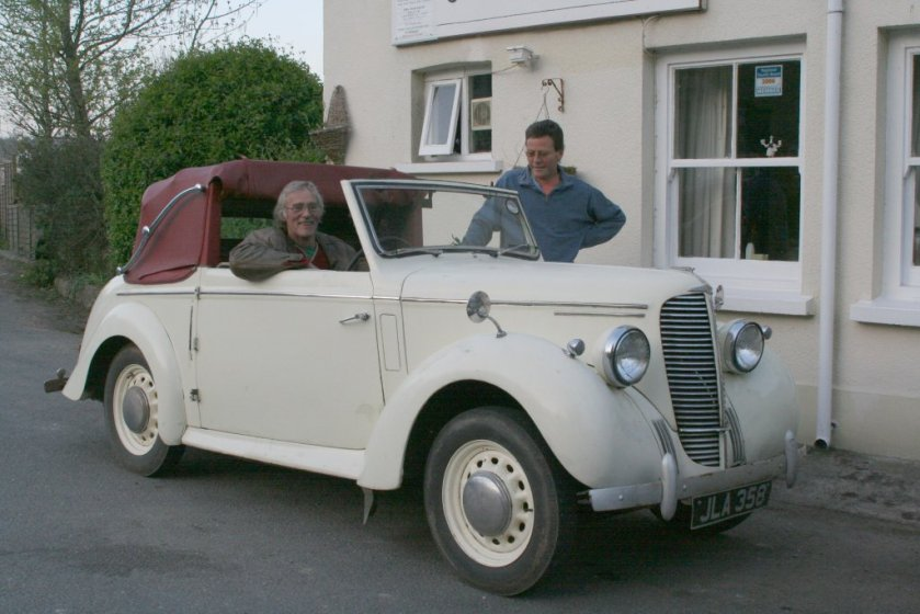 1947 Hilman Minx Mark I drophead coupé