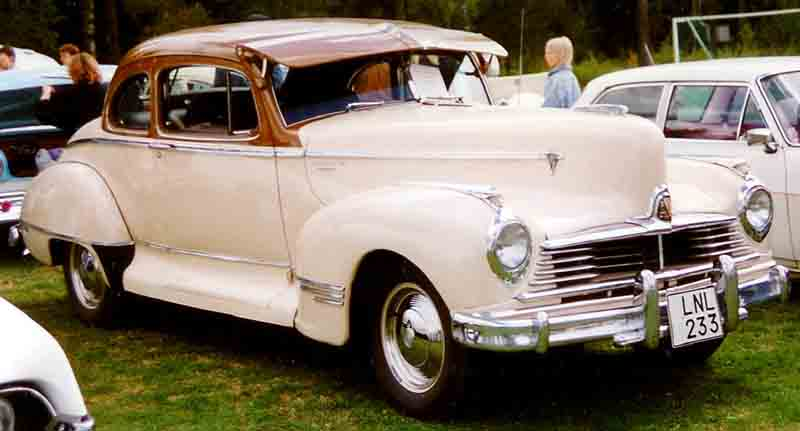 1947 Hudson 172 Club Coupé