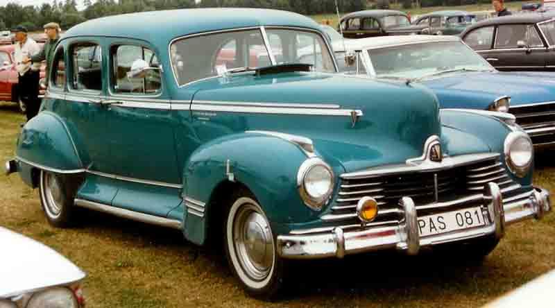 1947 Hudson 4-D Sedan