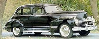 1947 hudson commodore six sedan