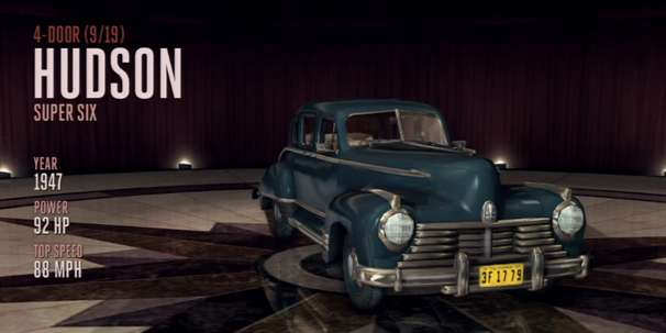 1947 Hudson super-six