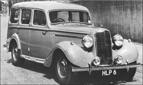 1947 humber estate