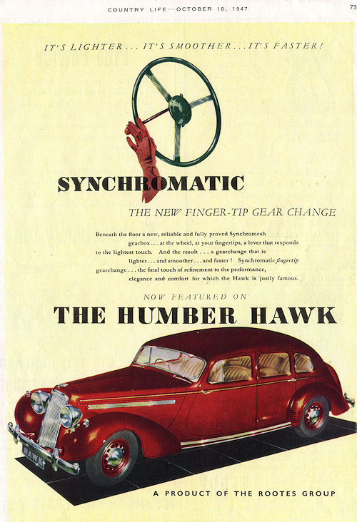 1947 humber hawk october1