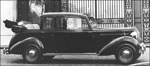 1947 humber sedanca