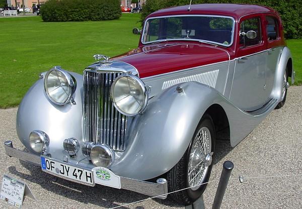 1947 Jaguar 3,5-litre MK IV